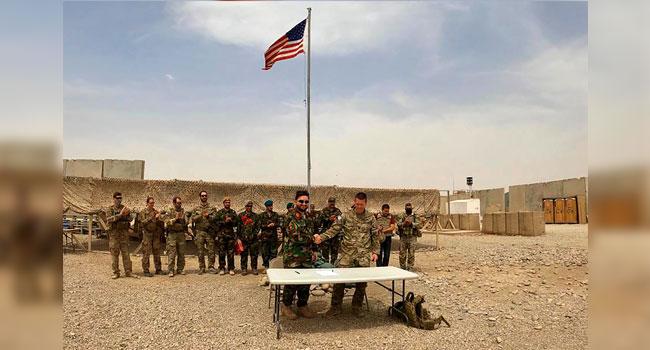 আফগান বাহিনীর কাছে সেনাঘাঁটি হস্তান্তর করলো যুক্তরাষ্ট্র