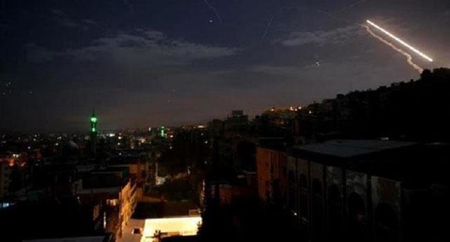 'ইসরাইলি ৮ ক্ষেপণাস্ত্রের ৭টিই ভূপাতিত করেছে সিরিয়া'